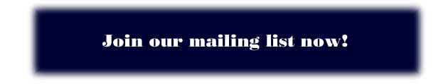 Join CH Landscaping's Mailing List